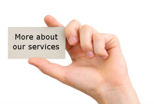 more about our services